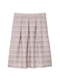 ◆大きいサイズ◆ラメボーダースカート