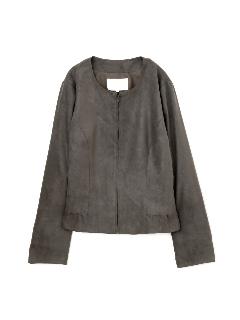 ◆大きいサイズ◆エルモザスエードジャケット