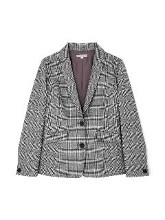 ◆大きいサイズ◆《Purpose》マイクロウォッチグレンチェックジャケット