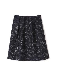 ラメフラワーJQスカート