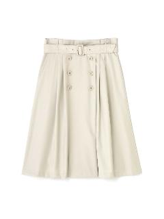マイクロギャバストレッチスカート