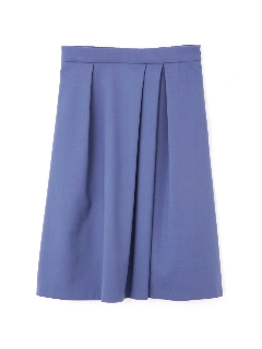 ◆大きいサイズ◆タックフレアカラースカート