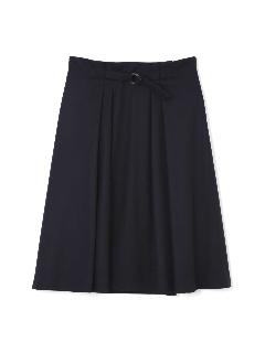 ◆大きいサイズ◆マルカンベルト付ジャージスカート