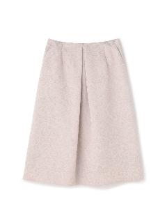 ラメフラワージャカードスカート