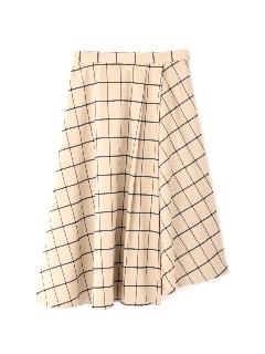 ウィンドペンアシンメトリースカート