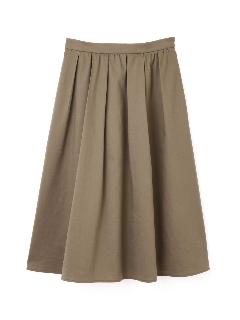 ツイルミディ丈スカート