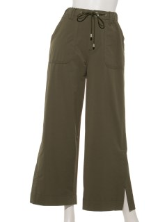 EASY NYLON WIDE PANTS