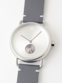 【ユニセックス】腕時計LunaMatteSilverルナマットシルバー
