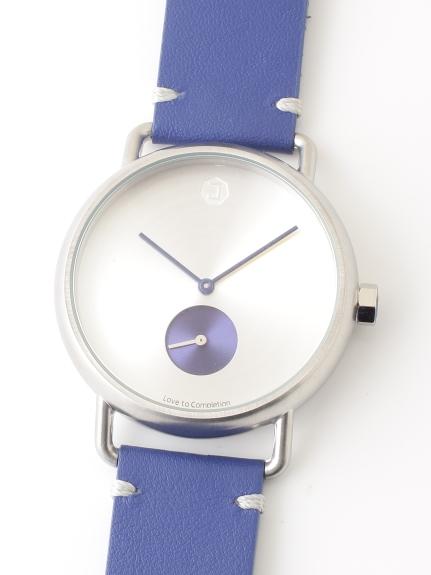 JAIDEN Classic (ジャイデンクラシック) 【ユニセックス】腕時計LunaMatteSilverルナマットシルバー ブルー