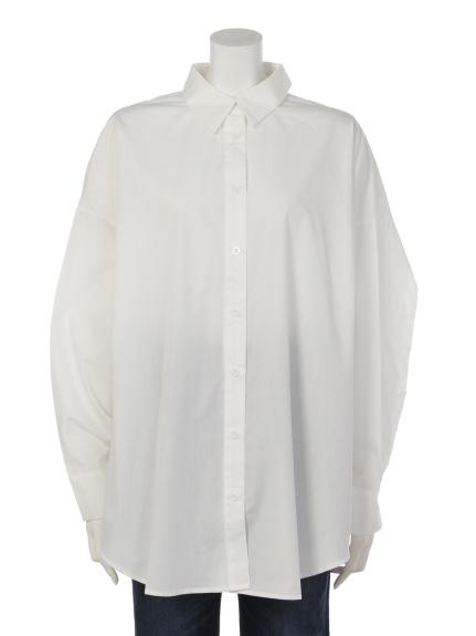 DURAS (デュラス) ボリュームシャツ WHITE