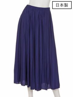 【日本製】ロングギャザースカート