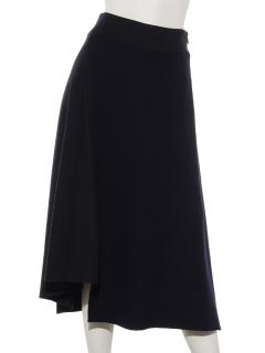 ウール切り替えスカート
