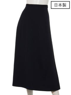 【日本製】ストレッチポンチロングスカート