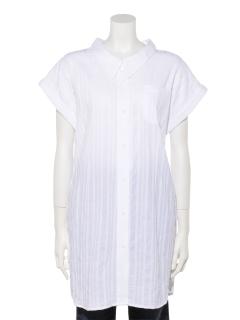 ・カジュアル袖シャツ