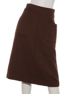 ボタニーパッチポケットAラインスカート