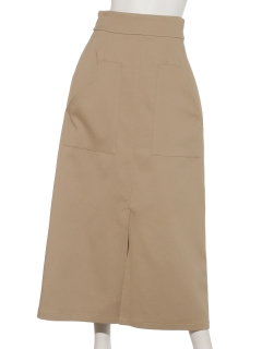 ダブルドビーロングAラインスカート