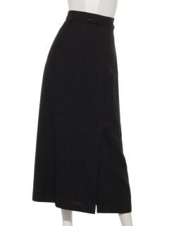 リネンライクAラインスカート