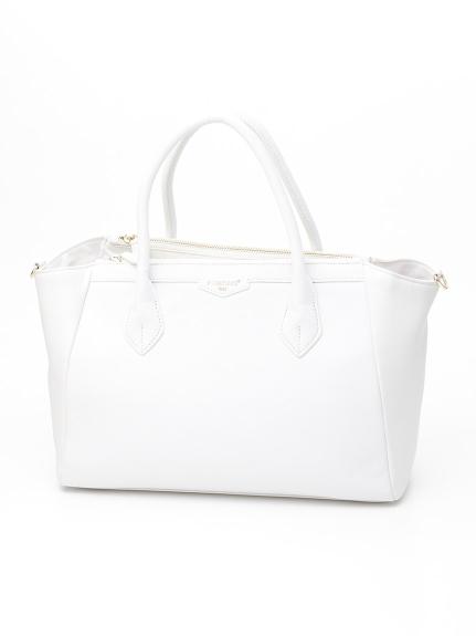 72%OFF POMIKAKI (ポミカーキ) ハンドバッグ ホワイト