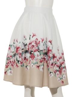 パネルプリント スカート