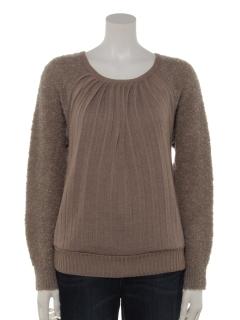 ニットプリーツセーター