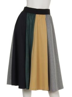8枚剥ぎフレアースカート