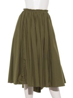 タイプライターコットンギャザースカート