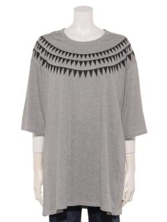 オーガニックコットンオーバーサイズTシャツ