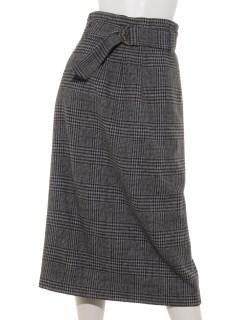 グレンチェック スカート