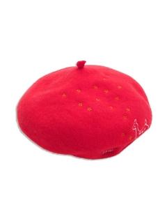 【petit jam】金平糖柄ベレー帽