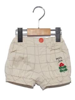 【petit jam】お花の丸いショートパンツ