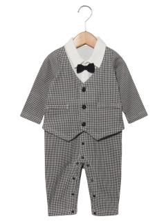 BABY フォーマル男児カバーオール