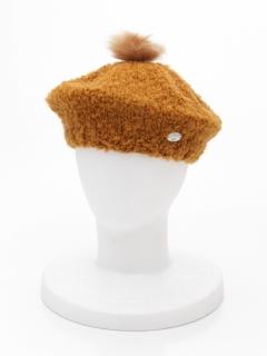 ベビーニットベレー帽