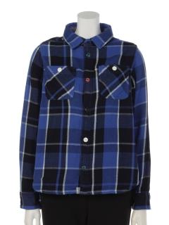 インディゴチェックネルシャツ(オトナ)
