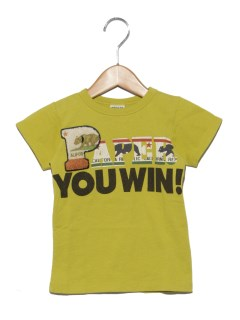 3柄じゃんけんワッペンTシャツ