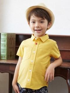 カラーシャンブレーシャツ