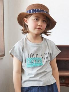 刺繍フリンジTシャツ