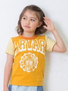 リメイク風カレッジロゴTシャツ