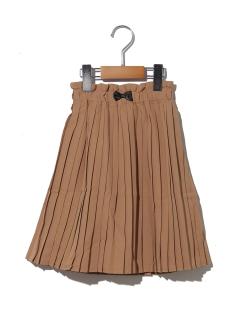 リボンワンポイントスカート