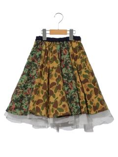 BREEZEリバーシブルボリュームスカート