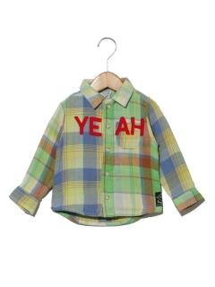 BREEZEクレイジーチェックシャツ