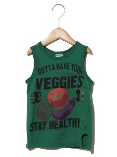 BREEZE野菜柄タンクトップ