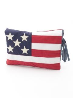 BREEZEアメリカ国旗クラッチバッグ