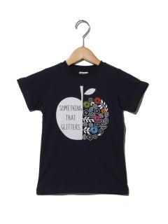 りんごモチーフTシャツ