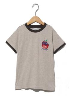 BREEZEフード4柄リンガーTシャツ