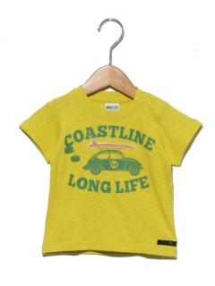 車プリントTシャツ