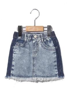 BREEZEフリンジラインスカート