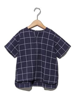 BREEZEウインドウペンプルオーバーシャツ
