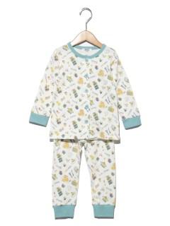 クッキング柄前開きパジャマ