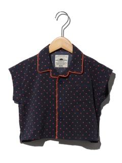 メッシュオープンシャツ