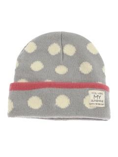 Dot&Borderニット帽
